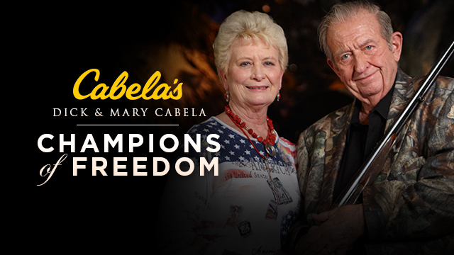 The Cabelas Champions of Freedom