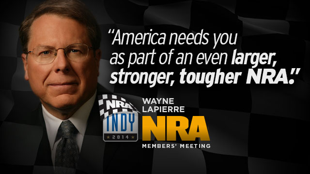 Wayne LaPierre at 2014 Leadership Forum