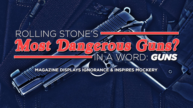 Firearms a Complete Unknown to Scribe at Rolling Stone