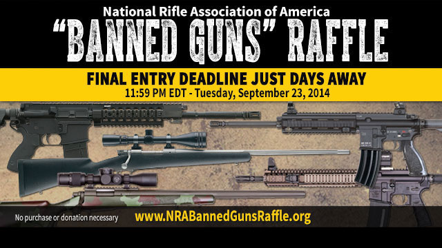 """Banned Guns"" Raffle"
