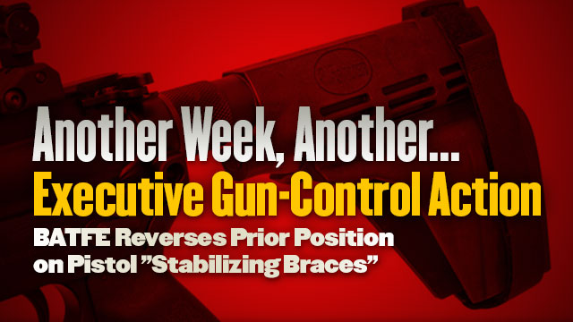 Another Week, Another... Executive Gun-Control Action