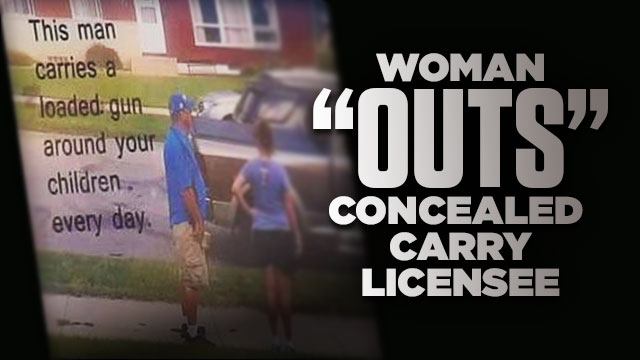 "Woman Posts Yard Sign to ""Out"" Neighbor as Concealed Carry Licensee"