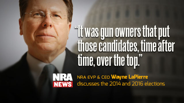 Wayne LaPierre on the 2014 Midterm Elections