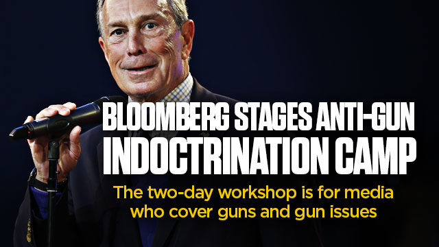Bloomberg Stages Anti-Gun Indoctrination Camp
