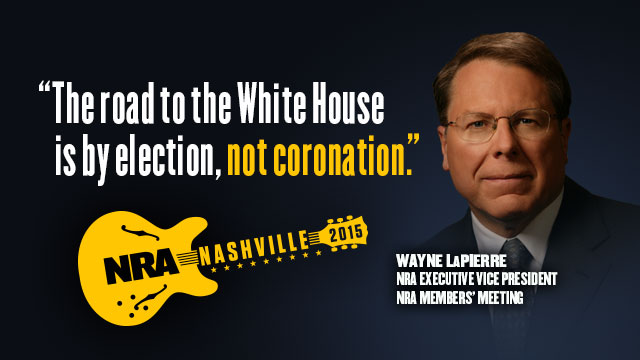 Wayne LaPierre 2015 NRA Annual Meetings