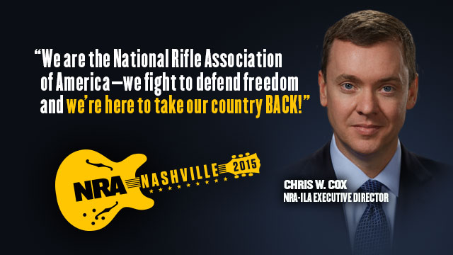 Chris W. Cox 2015 NRA Annual Meetings