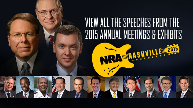 2015 NRA Annual Meeting Speeches