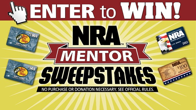 NRA Mentor Sweepstakes