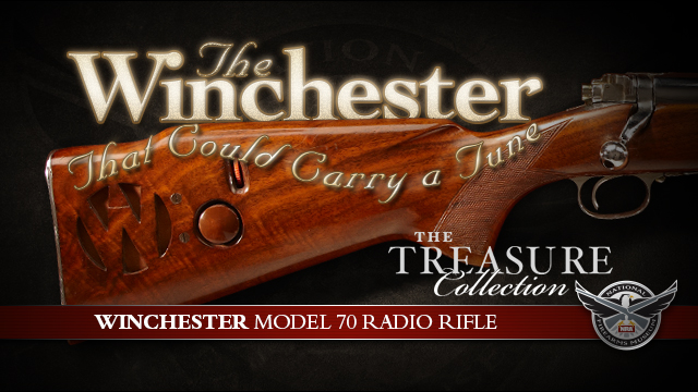 Winchester Model 70 Radio Rifle