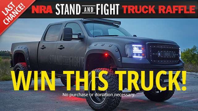 NRA Stand and Fight Truck Raffle