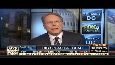 Wayne LaPierre on Fox Business Varney & Co